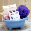 Cesta regalo baño - wellness